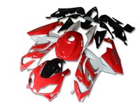 Wholesale aprilia rs125 fairing set - 4 Gifts New Fairings Injection ABS Full bike fairing kits for aprilia RS125 2006-2011 RS 125 06 07 08 09 10 11 RS4 bodywork set red white FR