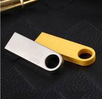 Wholesale Pen Drives 256 - Gold Silver U Disk Metal USB 8GB 16GB Usb Flash Drives 4GB Pendrive Pen Drive free DHL FEDEX EMS