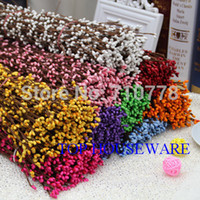 Wholesale Floral Stems - wholesale 40cm diy pretty pip berry stem for floral arrangemanet crafts wedding garland decoration accessories