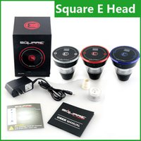 Wholesale head hose for sale - 2016 Square E head E head e hose e shisha mAh capacity square cartridge refillable e hookah disposable Hookah Rechargeable e head kit