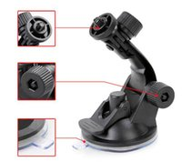 Wholesale Car Windows Suction Cup Camera - Rotate 180 Degree PC + TPU HOT SALE Car Window Windshield Glass Suction Cup Mount for Camera