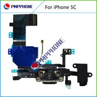 Wholesale Flex Connectors - Good Quality Connector Charging Port Flex Cable Compitable for iPhone 5C Phone Replacements With Fast Shipping