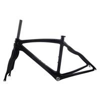 ingrosso struttura di carbonio di qualità-Prezzo di fabbrica EN Qualità Full Carbon Road Bike Frame, Carbon Frame Road + Fork + Clamp 48cm / 50cm / 52cm / 56cm