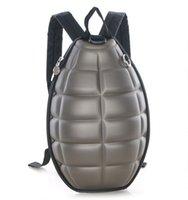Wholesale Turtles School Bag - 2016 new 30pcs Fashion originality children backpack Grenade backpack bomb Turtle shell School bag Men and women Backpack DHL