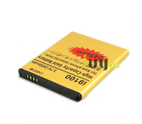 Wholesale Gold Battery Galaxy S2 - 1x 2450mAh EB-F1A2GBU Gold Replacement Battery For SamSung Galaxy S II S2 i9100 I9103 i9050 B9062 I9108 M340S Batterie Batterij Batteries