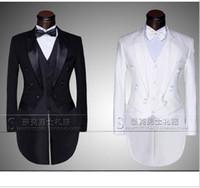 Wholesale Men S Grooming Set - Wholesale-New Male men's suit mounted casual suit the groom tuxedo set and Groom Wedding Dress Suit Men's Tail Suit