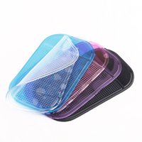 Hot Sale 5Pcs 5 couleurs Tableau de bord de voiture Anti-dérapant Soft Pad Tapis collant voiture anti dérapants pour Phone Key Sunglasses Car Styling