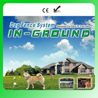 Wholesale Wire Fence Wholesalers - 8pcs 6666 square meter Dog Fence System Remote control of pet activity with 5 levels of Vibration and Static