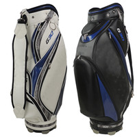 Wholesale Ems Male - 2015 Hot G30 golf bags Mens PU golf bag high quality AAA +black.white Ems ship