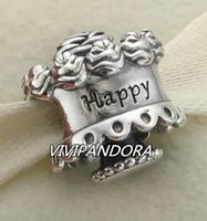 Pandora Gold and Silver Charms Beads 925 Sterling Silver FS102