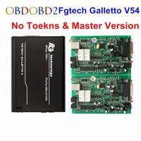 Wholesale Add Motor - Master V54 Fgtech Galletto 4 Unlock Version FG Tech ECU Chip Tuning Tool Programmer For Car Truck Motor Add OBD BDM Function