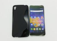 funda piel alcatel al por mayor-S Line Soft TPU Gel Skin Funda para LG V20 G6 H870 K3 2017 Stylo 3 LS777 K10 Pro Stylo 3 Plus U F820L Alcatel One Touch idol 3 5.5