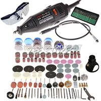 Wholesale Mini Die Grinder Electric - 220V -120W Electric Multipro Rotary Tool Mini Drill With Accessories 161pcs  Set