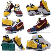 Wholesale Honor Medals - 2017 Hot Sale Kyrie Irving 3 Basketball Shoes for High quality Kyrie 3s Medal Honor What the N7 Easter Sports Training Sneakers Size7-12