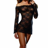Wholesale Sexy Transparent Nightgowns - w1031 1pcs Sexy toys Sexy Costumes New Sexy lingerie transparent underwear hot selling