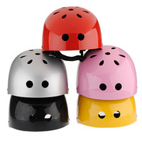 Wholesale Helmet Motorcycle Xs - Gloss Size M Safety Protect Bike Bicycle Scooter Motorcycle Skate Cycling Helmet KIDS Children 6 Colors order<$18no track