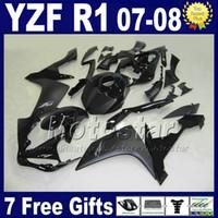 ingrosso parti di carenatura del motociclo di yamaha-100% adatto per kit carene Yamaha R1 anno 2007 2008 yzf r1 07 08 kit carene iniezione parti moto L7B2