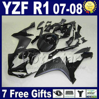 Wholesale Motorcycle Fairings Yamaha R1 - 100% fit for Yamaha R1 fairing kit year 2007 2008 yzf r1 07 08 fairings kits injection motorcycle parts L7B2