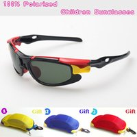 Wholesale Kids Boy Cute Cool - New Kids TAC Polarized goggles baby children sunglasses UV400 sun glasses boy girls cute cool cycling glasses