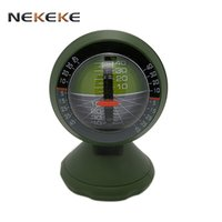 2017 New Outdoor Multifunction carro Inclinometer Angle Slope Medidor Balancer Measure Veículo Electronic Boat Compass do carro