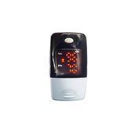 Wholesale Oximeter Beeps - Free shipping New Finger Pulse oximeter SPO2 display heart rate monitor fingertip oximetro with beep and alarm function AH-50L