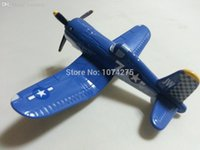 Wholesale Planes Pixar Skipper - Wholesale-Pixar Planes Diecast No.7 Skipper Metal Toy Plane 1:55 Loose New In Stock & Free Shipping