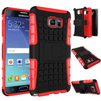 Wholesale Heavy Duty Mobile - Samsung mobile phone Galaxy note 5 SM-N9200 phone shell TPU + PC 2in 1 rubber Armor Defender Hybrid Heavy Duty phone case, Free shipping