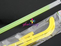 Wholesale Light Up Eyeglasses - Assort Color Glow Stick Eyeglasses Light Up Party Novelty Eye Glasses With 2 Connectors Fluorescent good quality