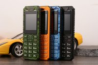 Wholesale Mini A8 Sim Card - Discovery k10 Shockproof Mini Mobile Phone UntraThin Dual SIM Card Camera GPRS FM Bluetooth Russian Keyboard Q1 V8 V5 M5 A8 A9