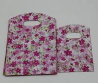 Hot Sales ! Jewelry Pouches .200pcs Flower Plastic Bags Jewelry Gift Bag .9X15cm   13x20cm  15x20cm Etc.