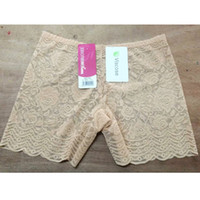 Wholesale Sexy Security - Wholesale women's ladies sexy underwear lace Embroidery Rose transparent breathable comfortable security basic boy shorts underpants #419