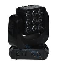 usa mk UK - 4pcs lot Moka MK-M25 3*3 RGBW LED Lighting Moving Head Stage Light matrix lamp With Flight Case