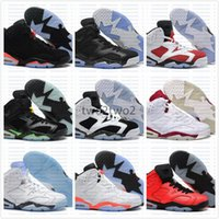 best best cheap basketball shoes  - Free Shipping Wholesale Cheap online hot Sale New Best Mens basketball shoes New Retro 6 VI Carmine Sneaker Sport Shoe VI US 8-13