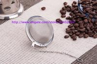Wholesale Steel Mesh Tea Ball - DHL Best Price 200pcs lot Stainless Steel Tea Pot Infuser Sphere Mesh Strainer Ball 5cm Free shipping