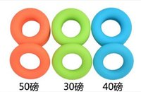 Wholesale Strength Grip Rubber Ring - Fashion Hot 3 pcs set Sport Muscle Power Training Rubber Ring Strength Hand Grip Exerciser Fit