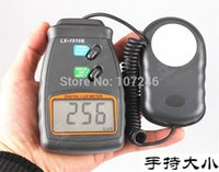 Wholesale digital lux light meter - Wholesale-6PCS LCD Display 3 Ranges 50,000 Lux Meter Digital Light Meter Lux Meter Tester Luxmeter Luminometer Photometer illuminometer
