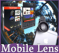 Wholesale clip hot mobile - 2016 hot sell lens phones telescopes lens 3 in 1 mobile lens iphone 6 universal galaxy S6 S7 note 4 lens clip smart phones free shipping
