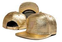 Wholesale Strap Snap Back - new fashion gold cayler & sons snapback strap snap back men women sports hip hop baseball caps 1pcs drop shipping TYMY 110