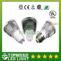 CREE a conduit la lampe 9W 12W 15W MR16 12V GU10 E27 B22 E14 110-240V a conduit le projecteur de lumière de point a mené l'éclairage de downlight d'ampoule 100