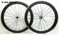 Wholesale Carbon Wheel Brake Surface - Outlet ! 60mm clincher Alloy braking surface carbon wheels road bike wheelset carbon rim with alloy brake track, 2-Year-warranty