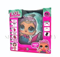Wholesale New Figures - Brand New LOL SURPRISE DOLL with packing Dolls Dress Up Toys baby Tear open change egg dolls can spray toys also Anniversary Edition