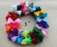 Wholesale Wholesale Large Gift Bows - 10% OFF 50 pcs 5 inch Bows, Big Bow,Hairbow, Big Hair Bows, Large Hair Bow, Big Hair Bow, Extra Large Hair Bow, Teen Hair Bow,children gift.