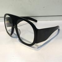 Wholesale luxury fashion eyeglass frame brands - Luxury 0152 Eyewear Brand Eyeglasses 0152S Large Frame Elegant Special Designer Oval Frame Built-In Circular Lens Top Quality Come With Case