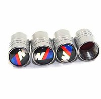 Wholesale Bmw Tire Caps - Car-styling Tire Valve Caps For BMW e30 e46 e60 e90 e92 f10 f20 Accessories Car Styling sticker