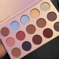 Christmas ColourPop Golden State of Mind 15 colori Eyeshadow Palette Glitte Matte Shimmer Makeup Eye Shadow Palette