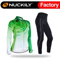 Cheap Full winter deesign cycling set Best Breathable Women custom fleece  long jersey 0d7f21180