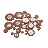Wholesale Tenor Sax Pads - Wholesale- 25pcs Sax Leather Pads Replacement for Tenor Saxophone