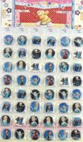 Minion mario Prix-2015 Badge étudiants Garçons et Filles Jouets Mode Frozen Minion Superman Batman Enfants Badges 48pcs / Set Free DHL