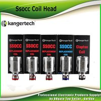 Wholesale Kangertech Replacement Coils - Authentic Kanger SSOCC coil head 0.2ohm 0.5ohm 1.2 ohm 1.5ohm 0.15ohm Ni200 Clapton 0.5ohm replacement KangerTech coil 100% genuine 2211047