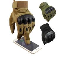 ingrosso guanti duri-Touch Screen Tactical Duro Knuckles Army Militare Caccia tiro Combattimento Guanti Sport all'aria aperta in bicicletta Guanti da bicicletta OOA3780